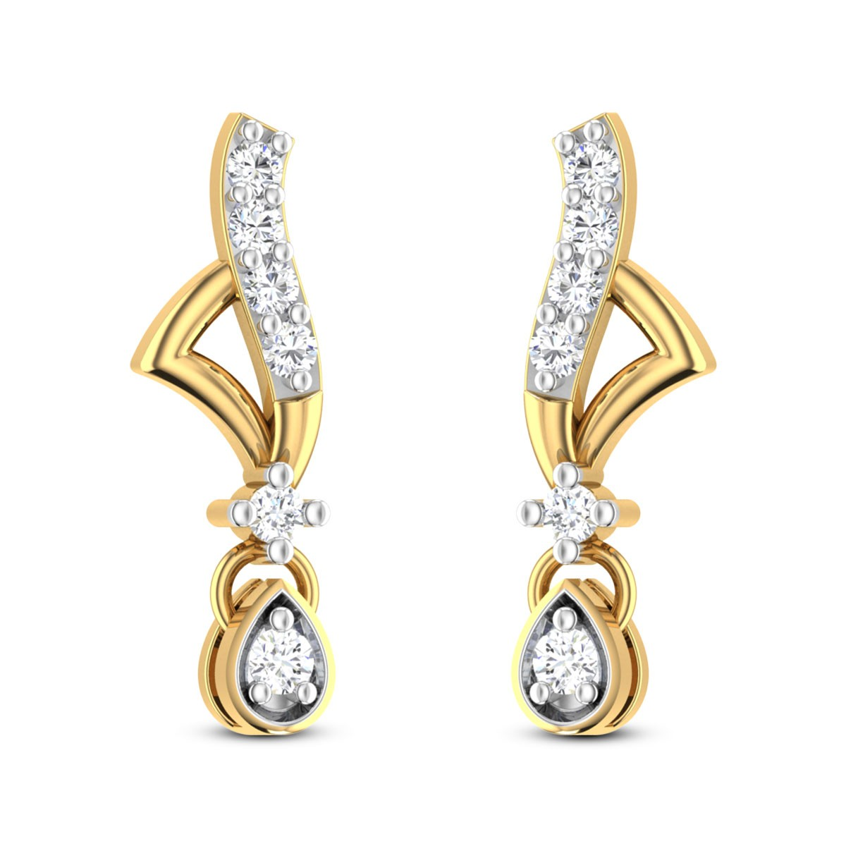 Marilla Diamond Earrings