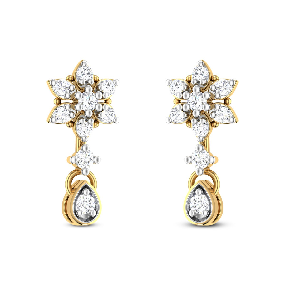 Vega Diamond Earrings