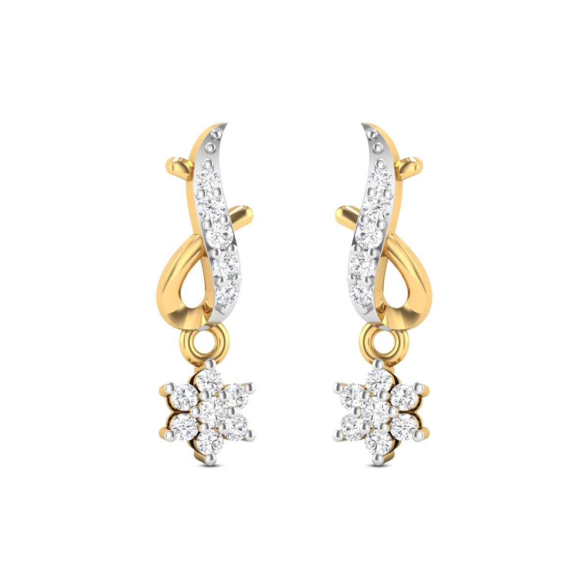 Dove Diamond Earrings