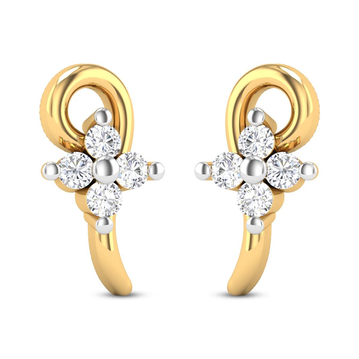 Cafleen Diamond Earrings