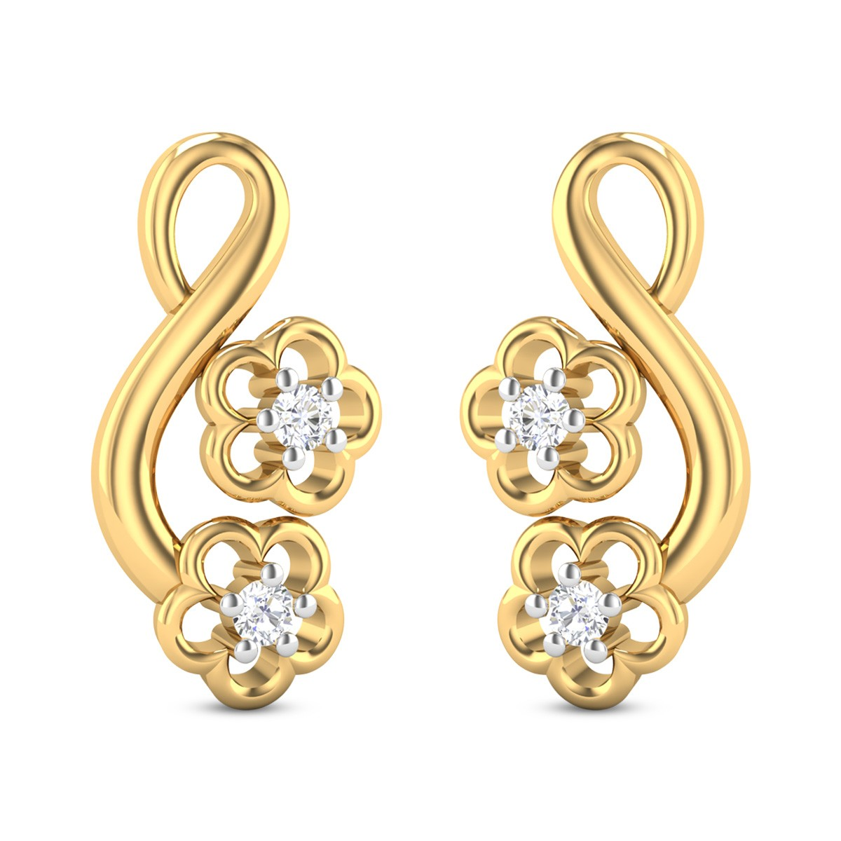 Portia Diamond Earrings