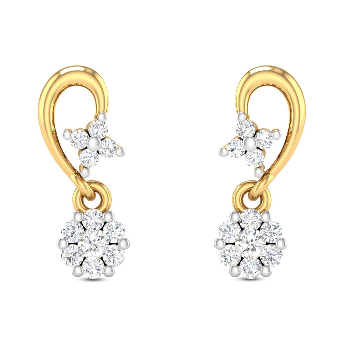Meriel Diamond Earrings