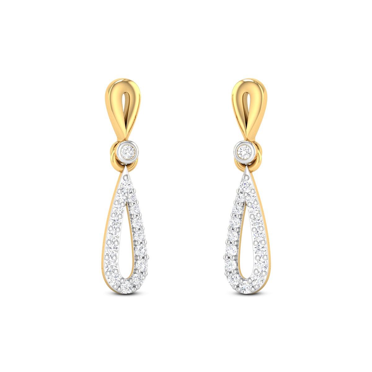 Glittering Glory Diamond Earrings