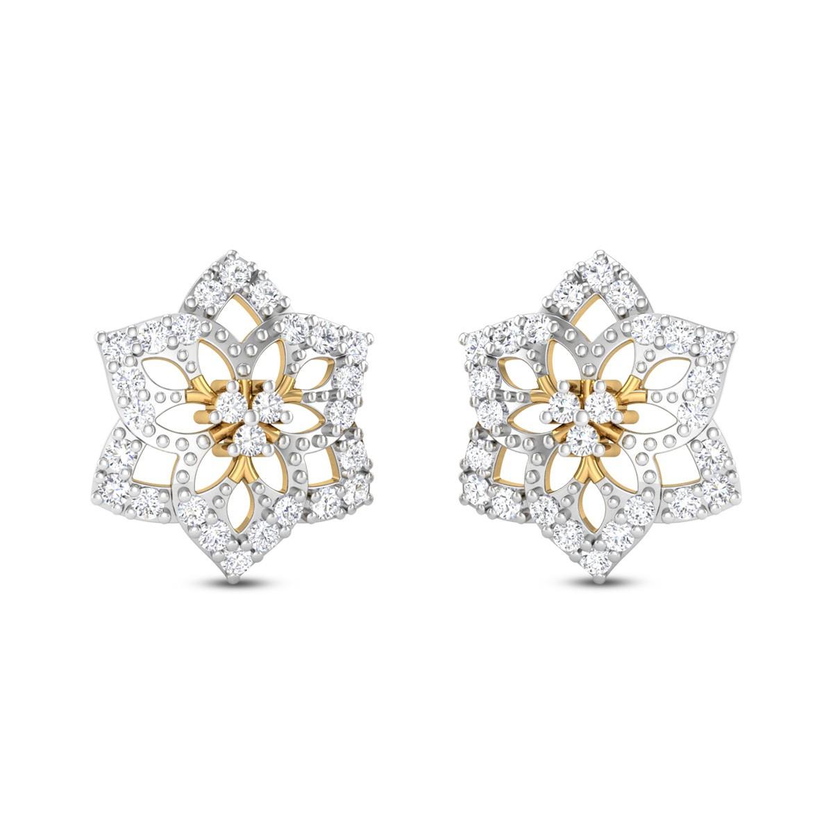 Shining Star Diamond Earrings