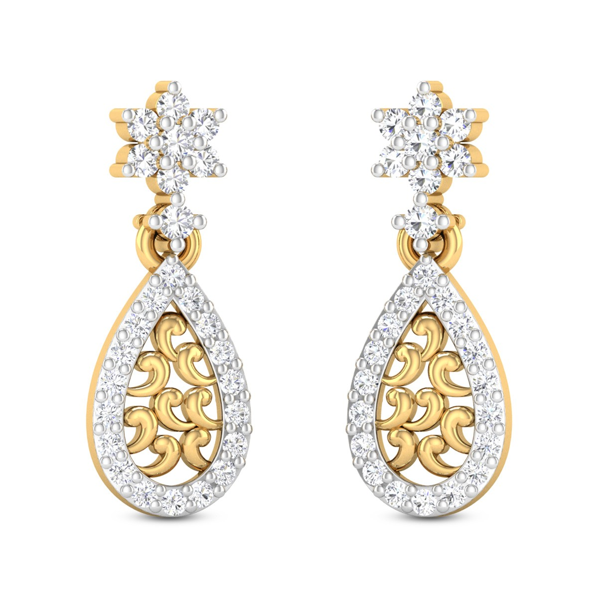 Iliane Diamond Earrings