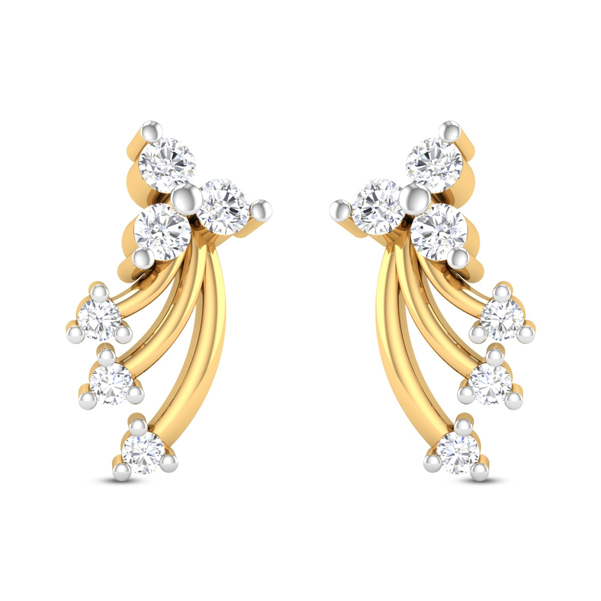 Ameila Diamond Earrings