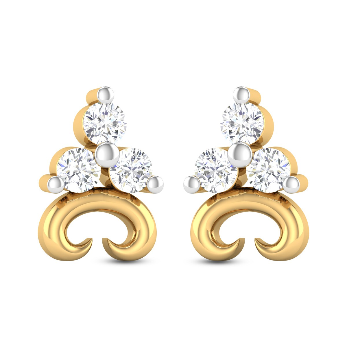 Nenet Diamond Earrings