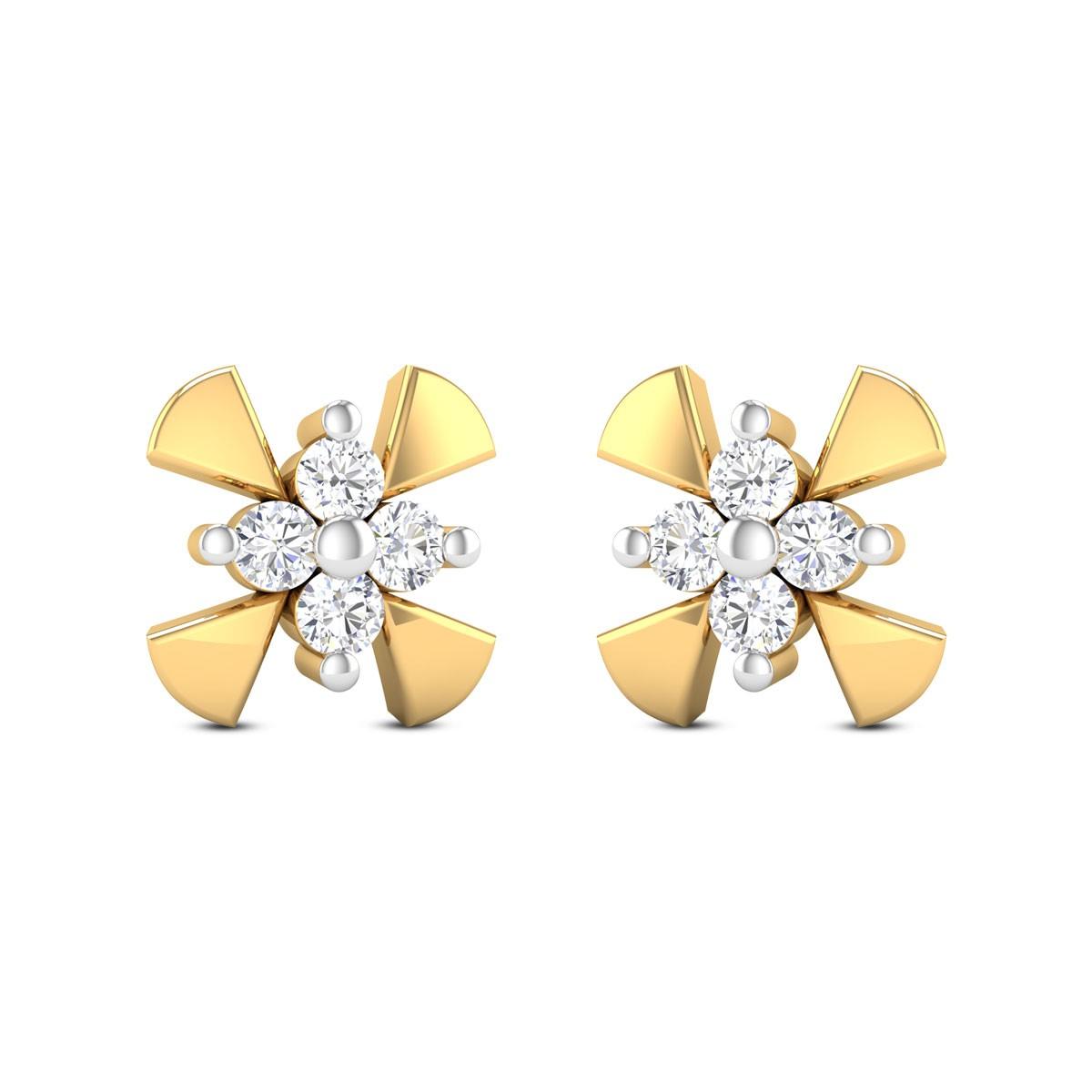 Viola Diamond Earrings