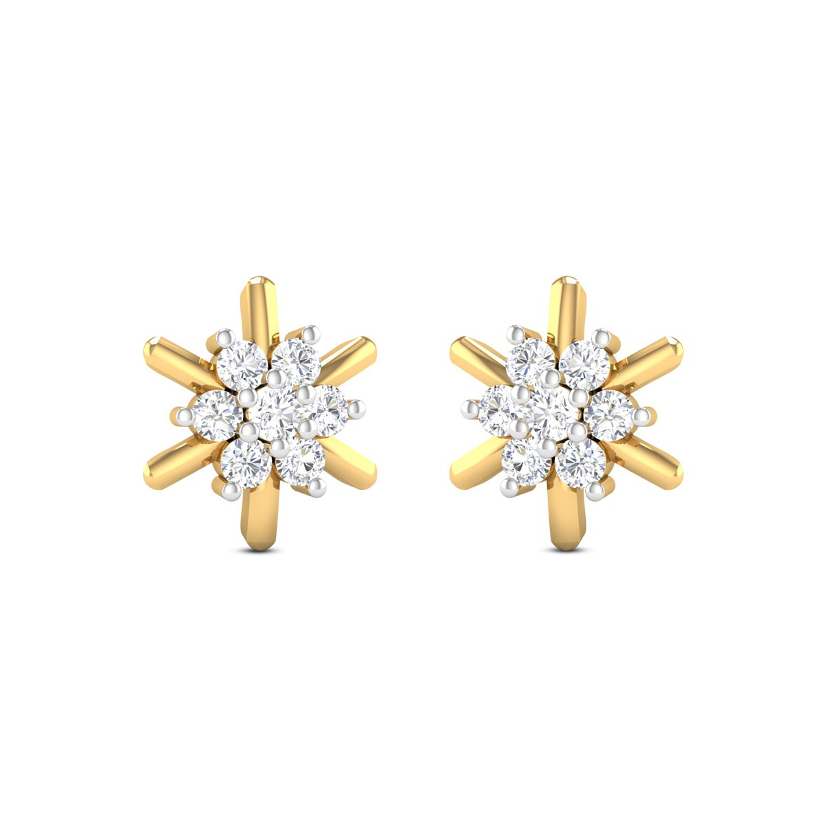 Prada Collection Diamond Earrings