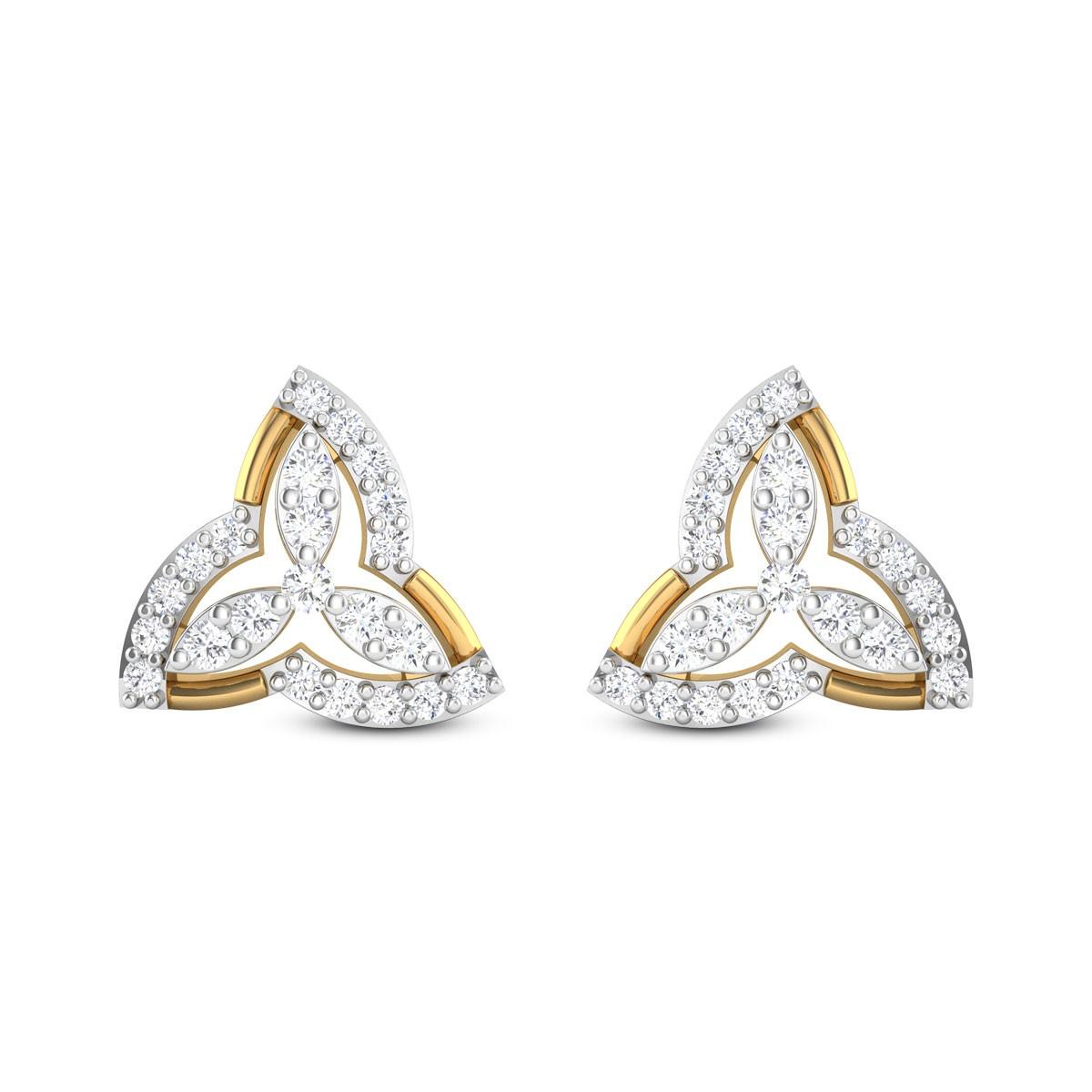 Fabia Diamond Earrings