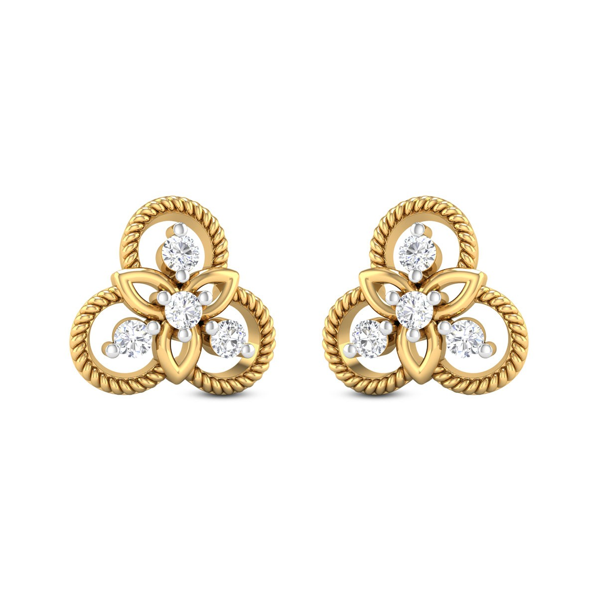 Trista Diamond Earrings