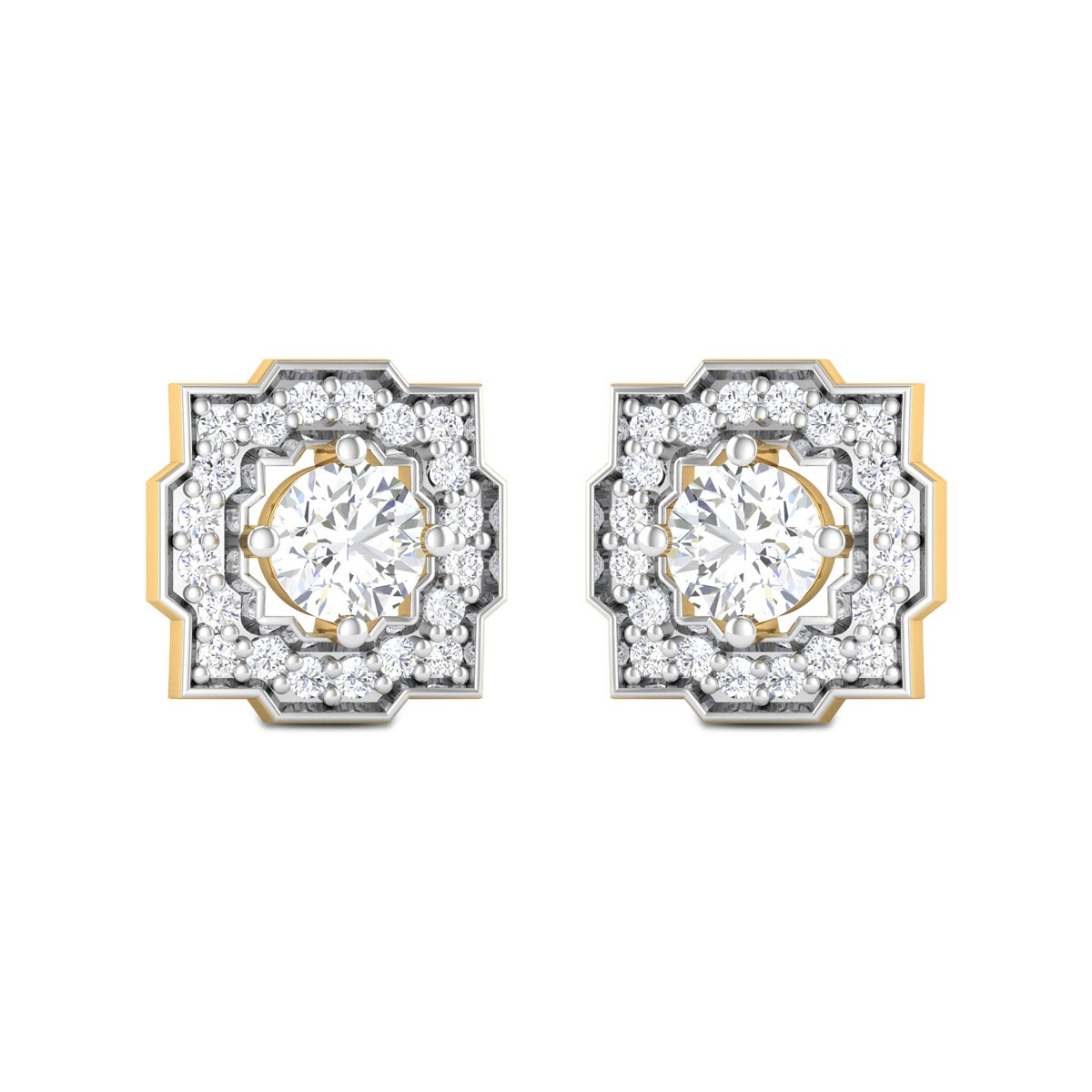 Natalia Solitaire Earrings