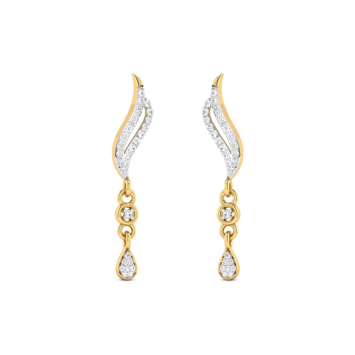 Destini Collection Diamond Earrings