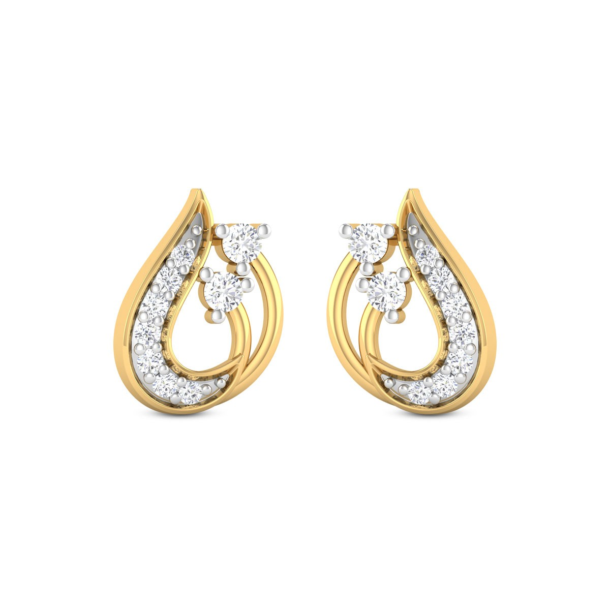 Lafiza Diamond Earrings