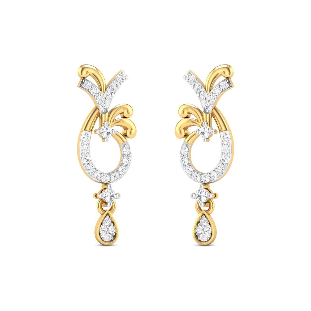Iris Diamond Earrings