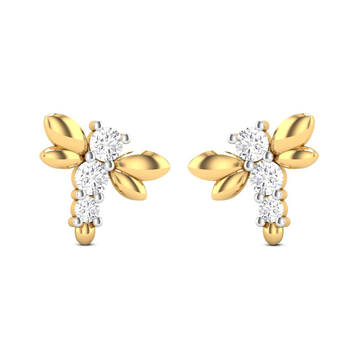 Vivian Diamond Earrings