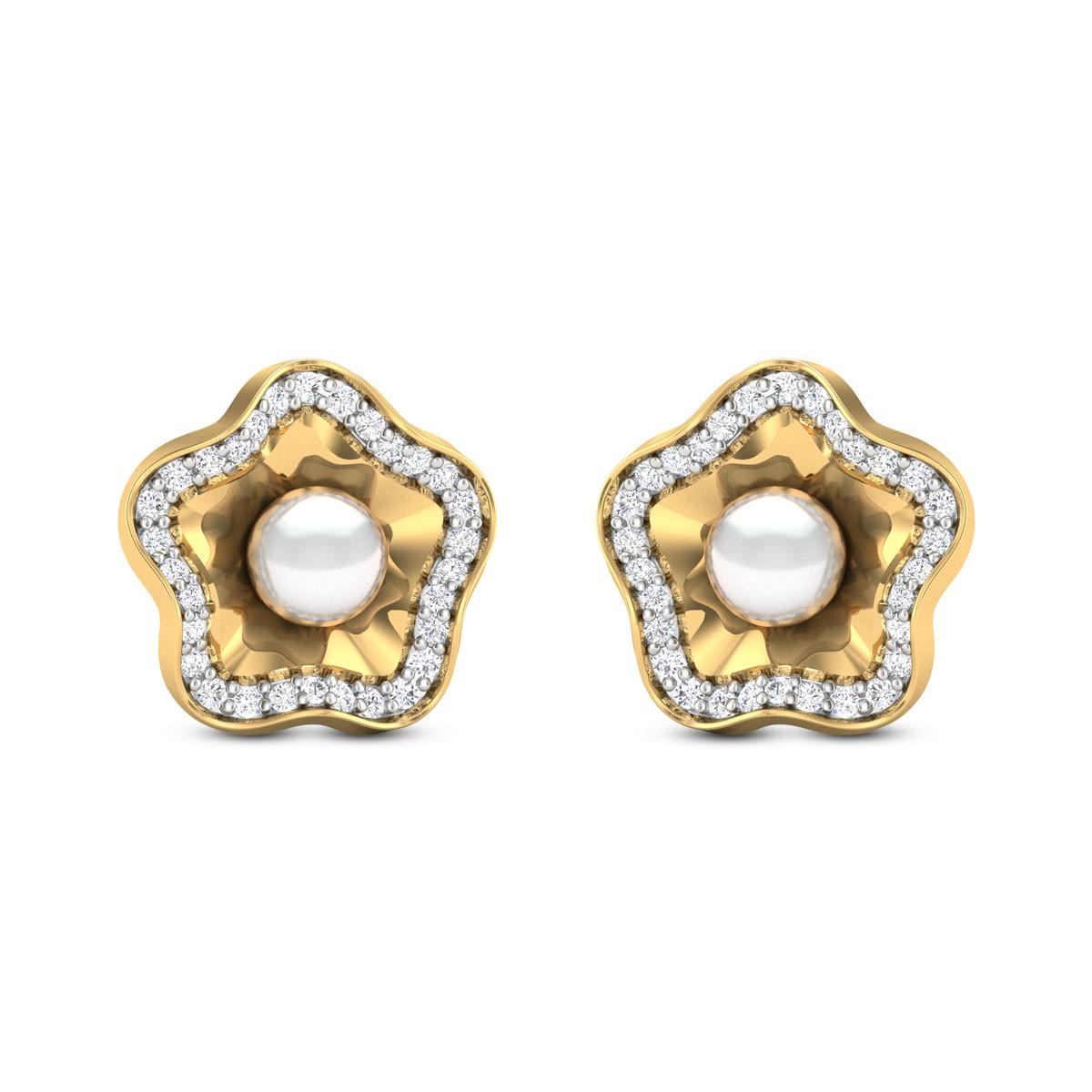 Mayrlys Pearl Stud Earrings