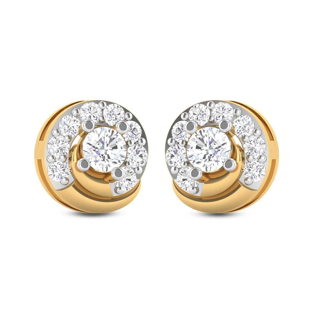 Namika Diamond Stud Earrings