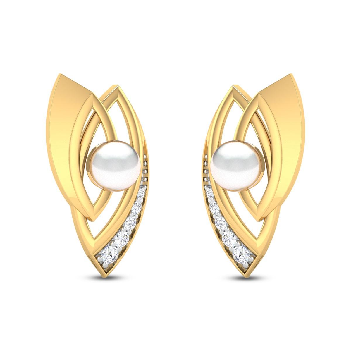 Pearl Miracle Stud Earrings