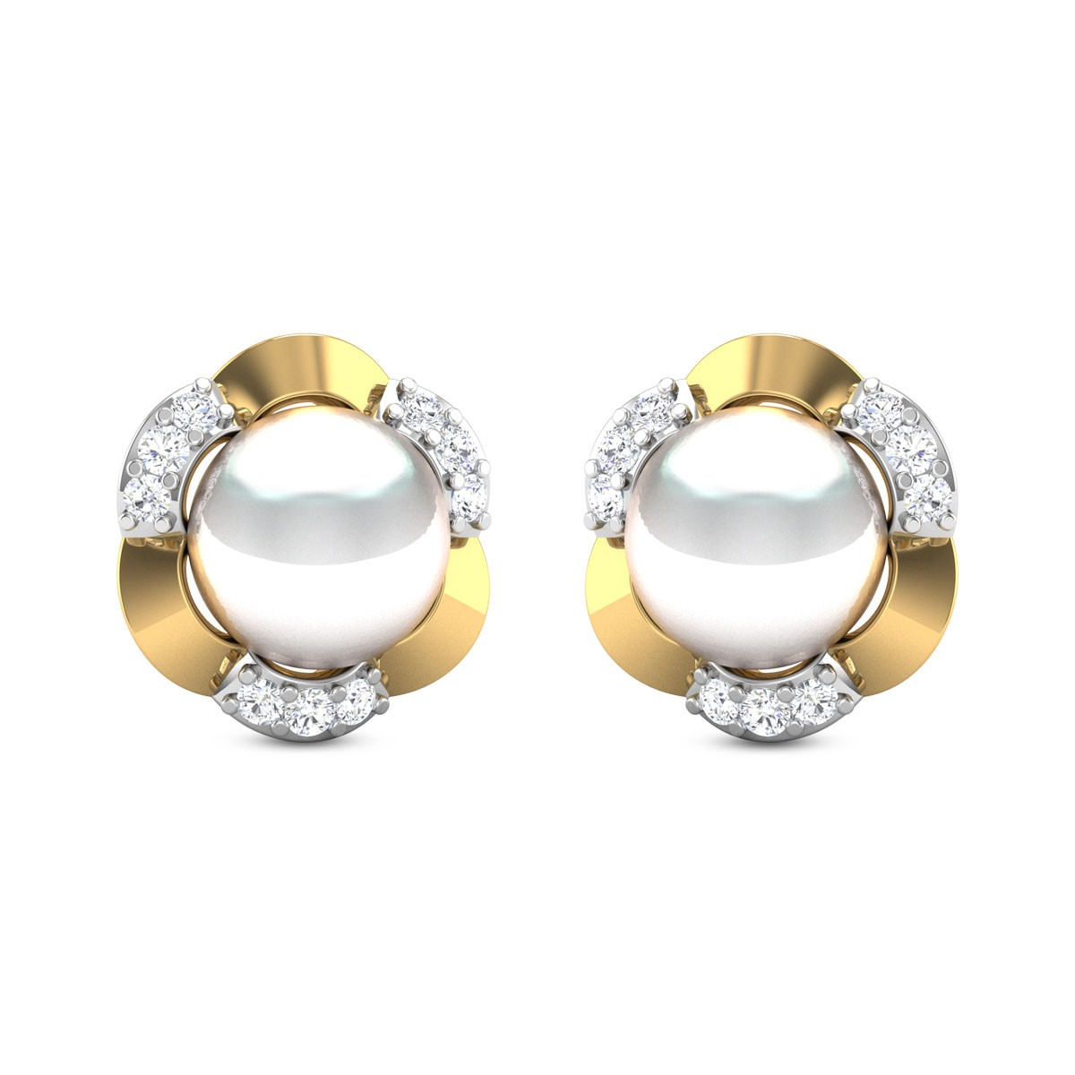 Pearl Wonder Stud Earrings