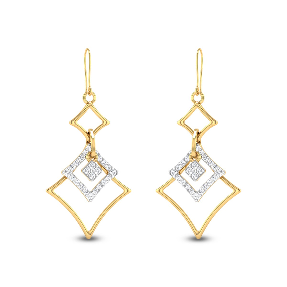 Geons Hanging Earrings
