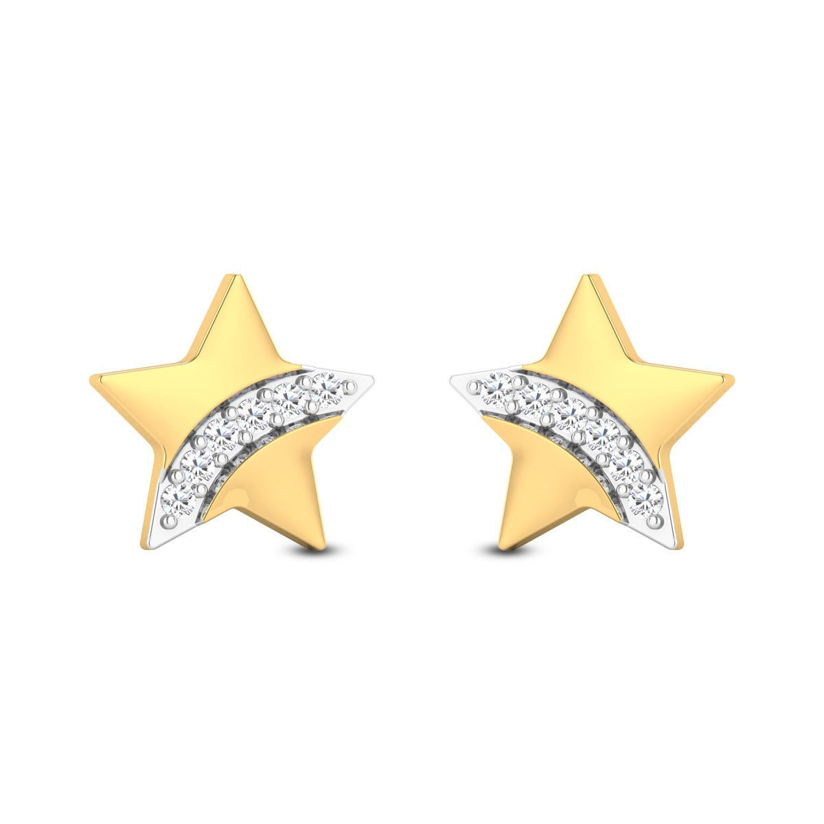 Baby Stars Diamond Earrings
