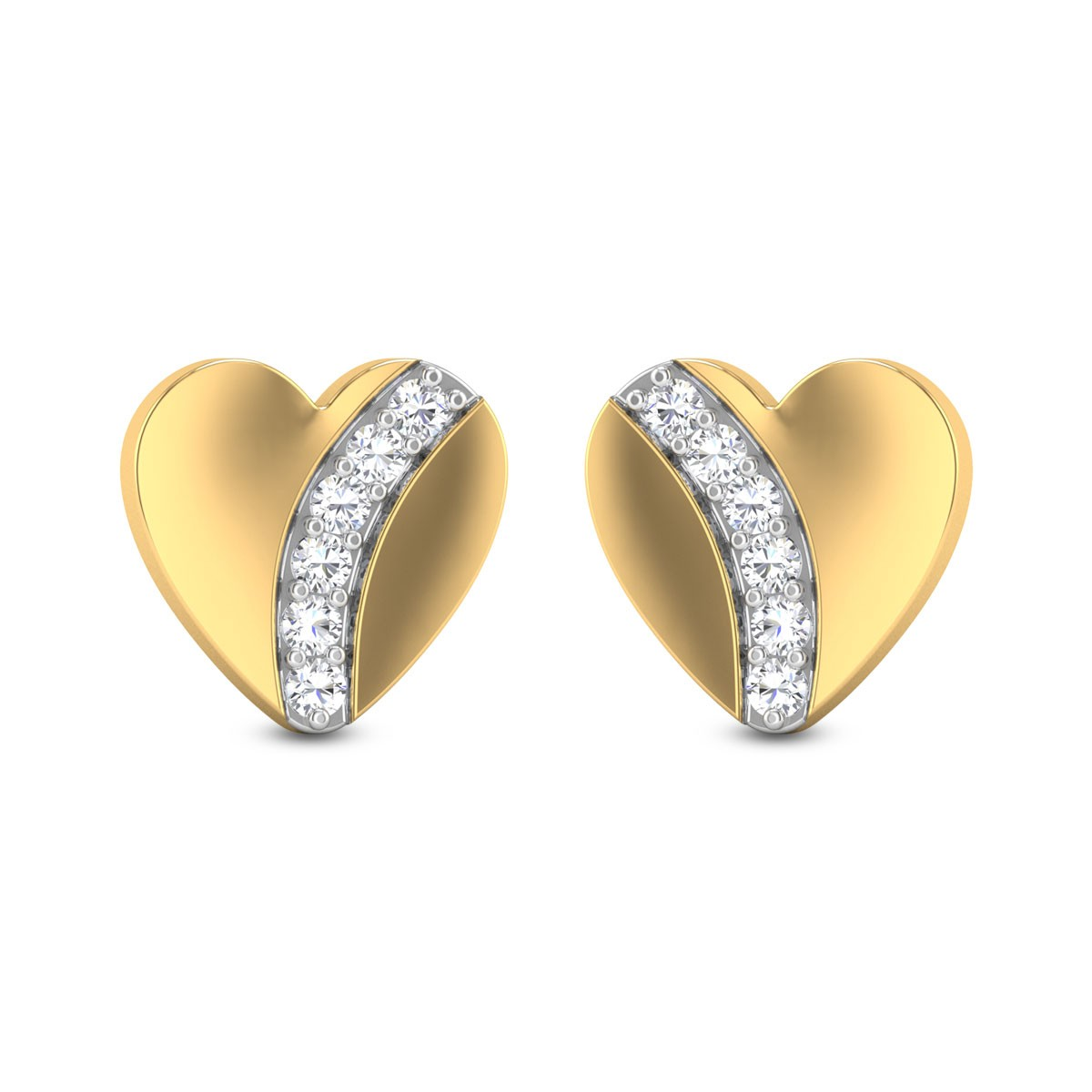 Little Hearts Diamond Earrings