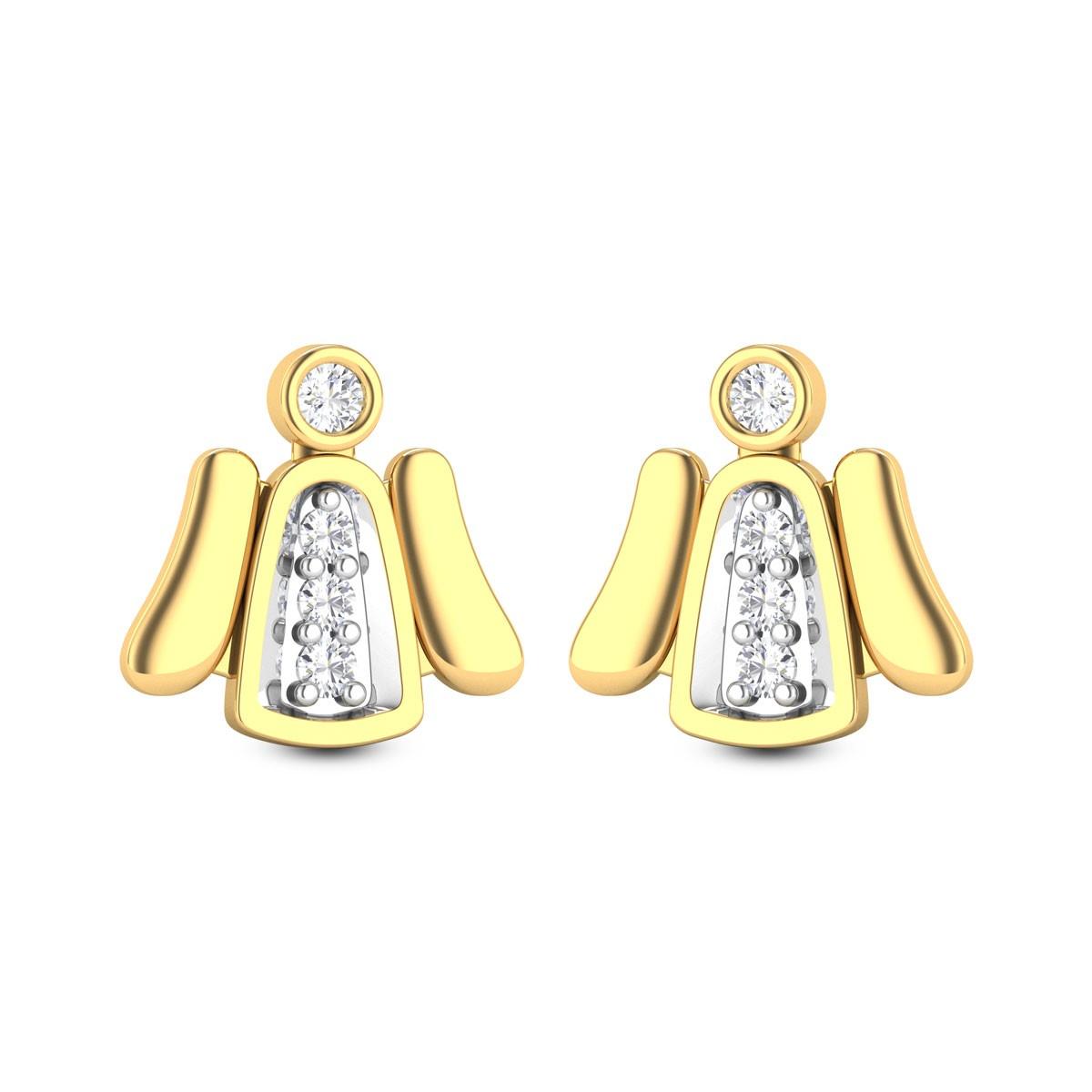 China Doll Diamond Earrings
