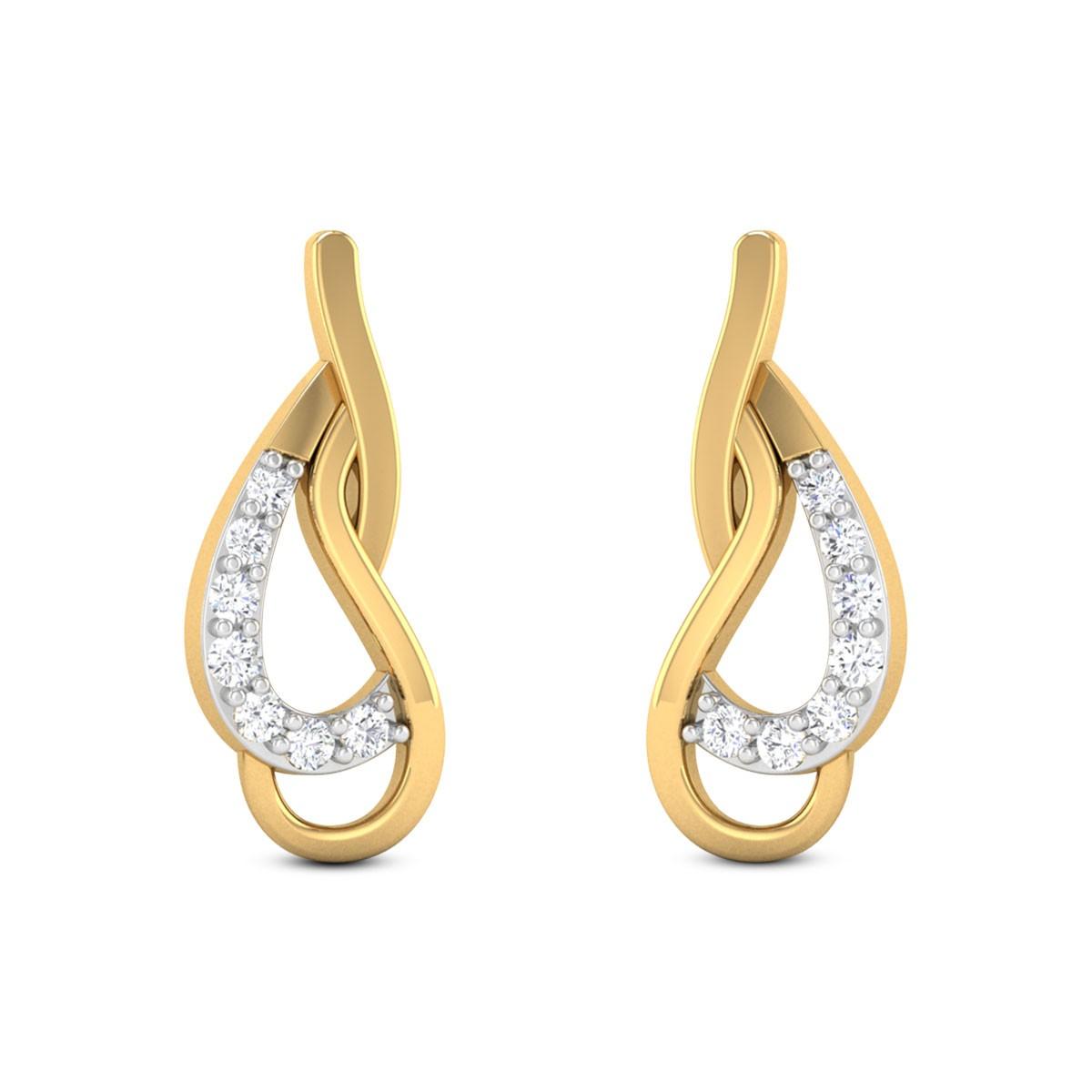 Enticing trance Diamond Earrings