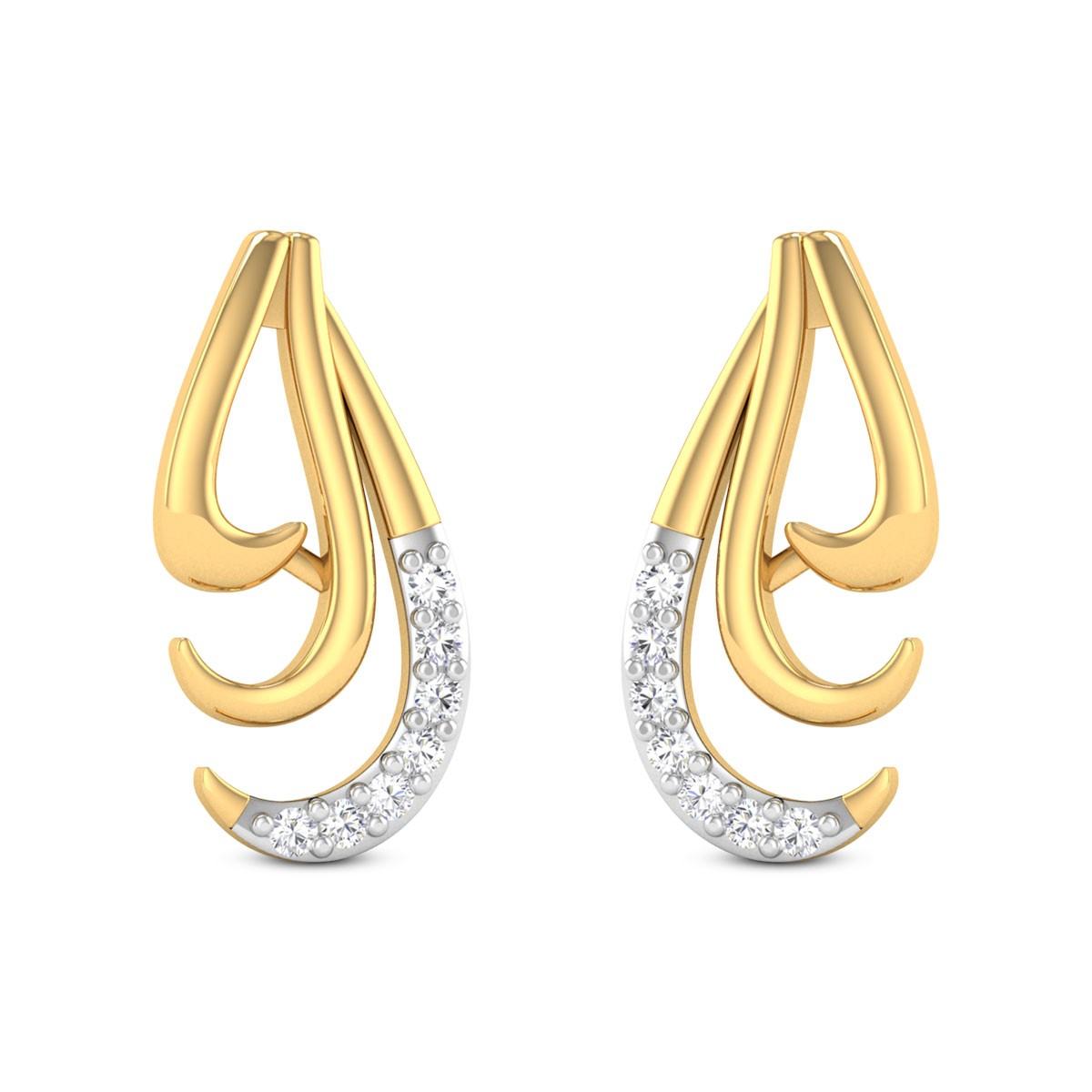 Alicia Diamond Earrings