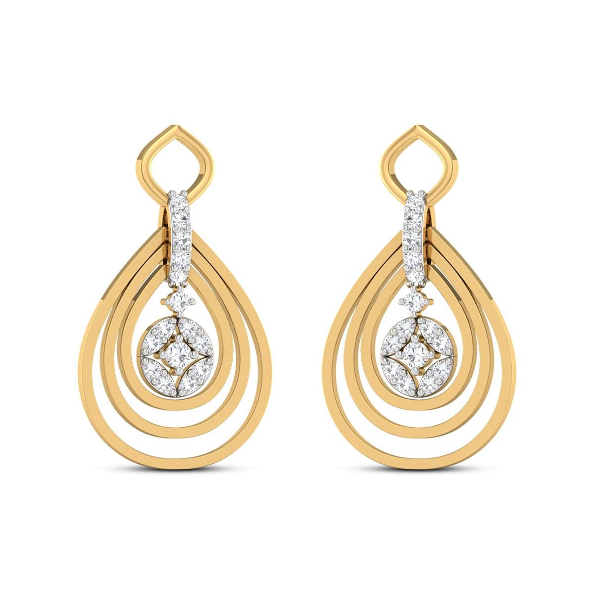 Lathika Diamond Earrings