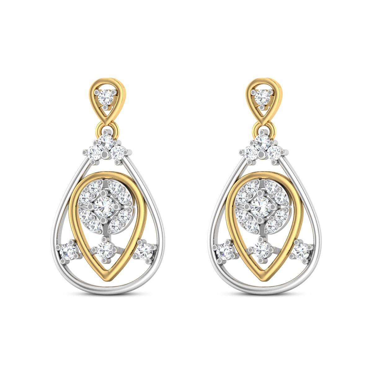Nripa Diamond Earrings