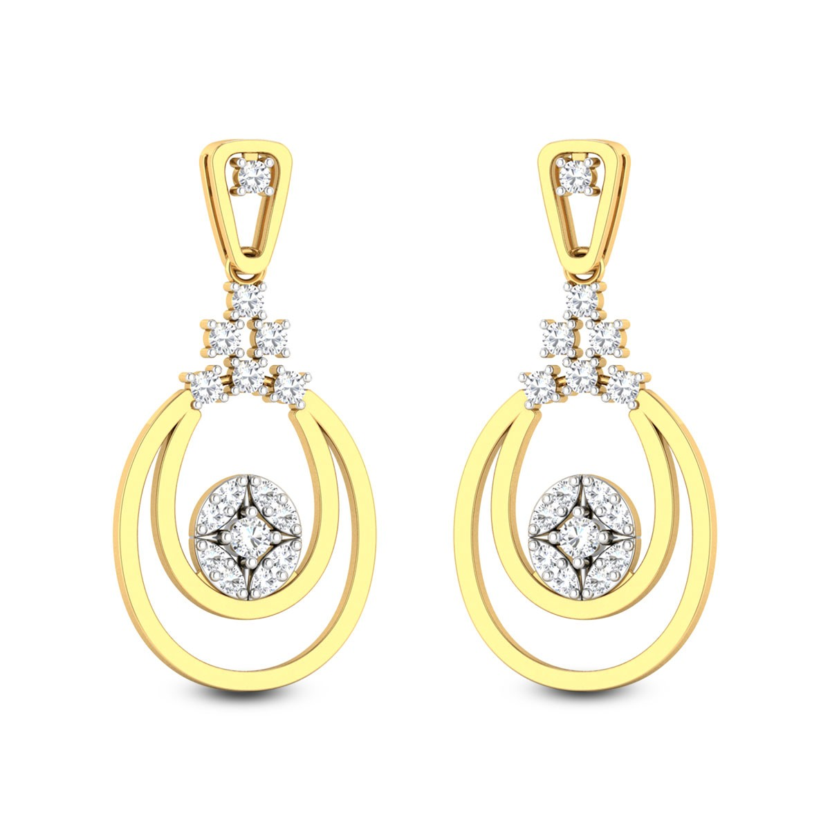 Ethereal Class Diamond Earrings