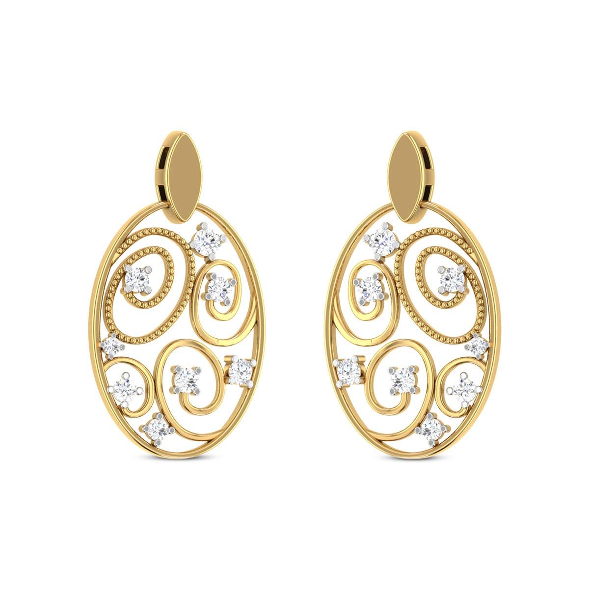 Lumina Diamond Earrings