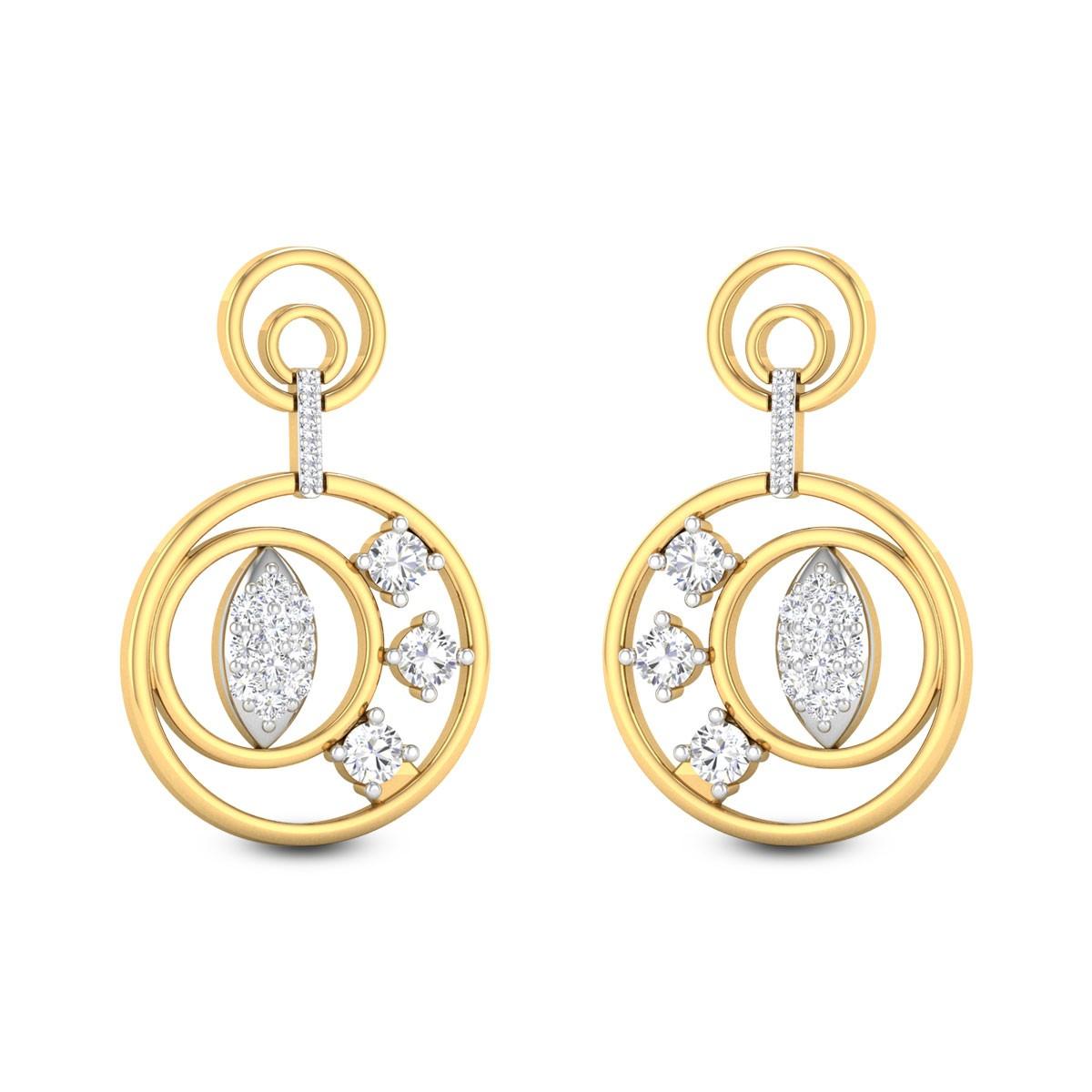 Leya Diamond Earrings