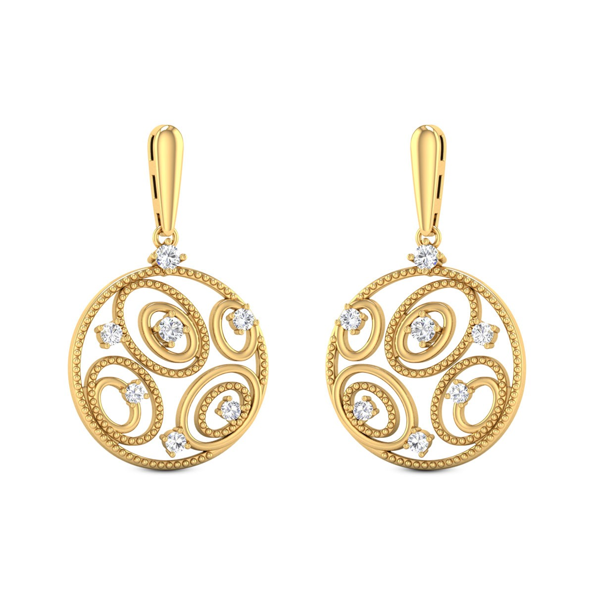 Mystic Muse Diamond Earrings