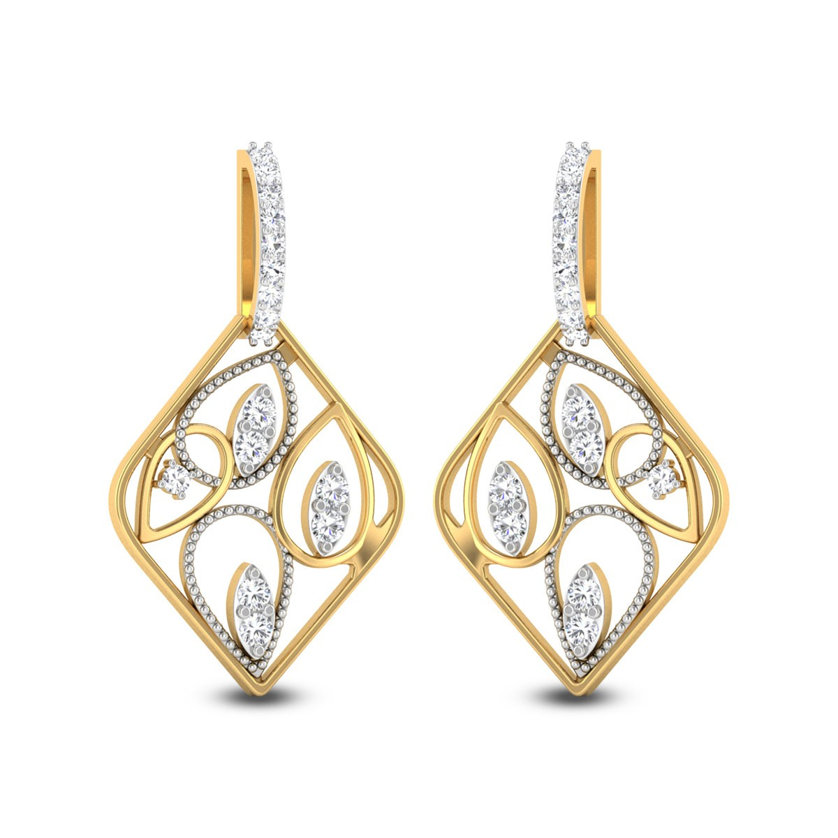 Ashna Diamond Earrings