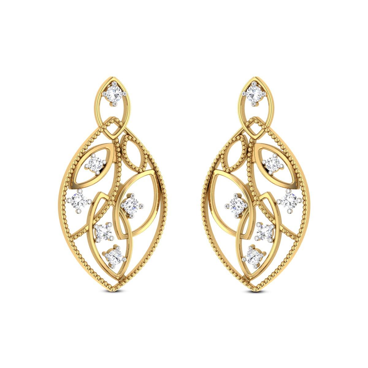 Entrancing Beau Diamond Earrings