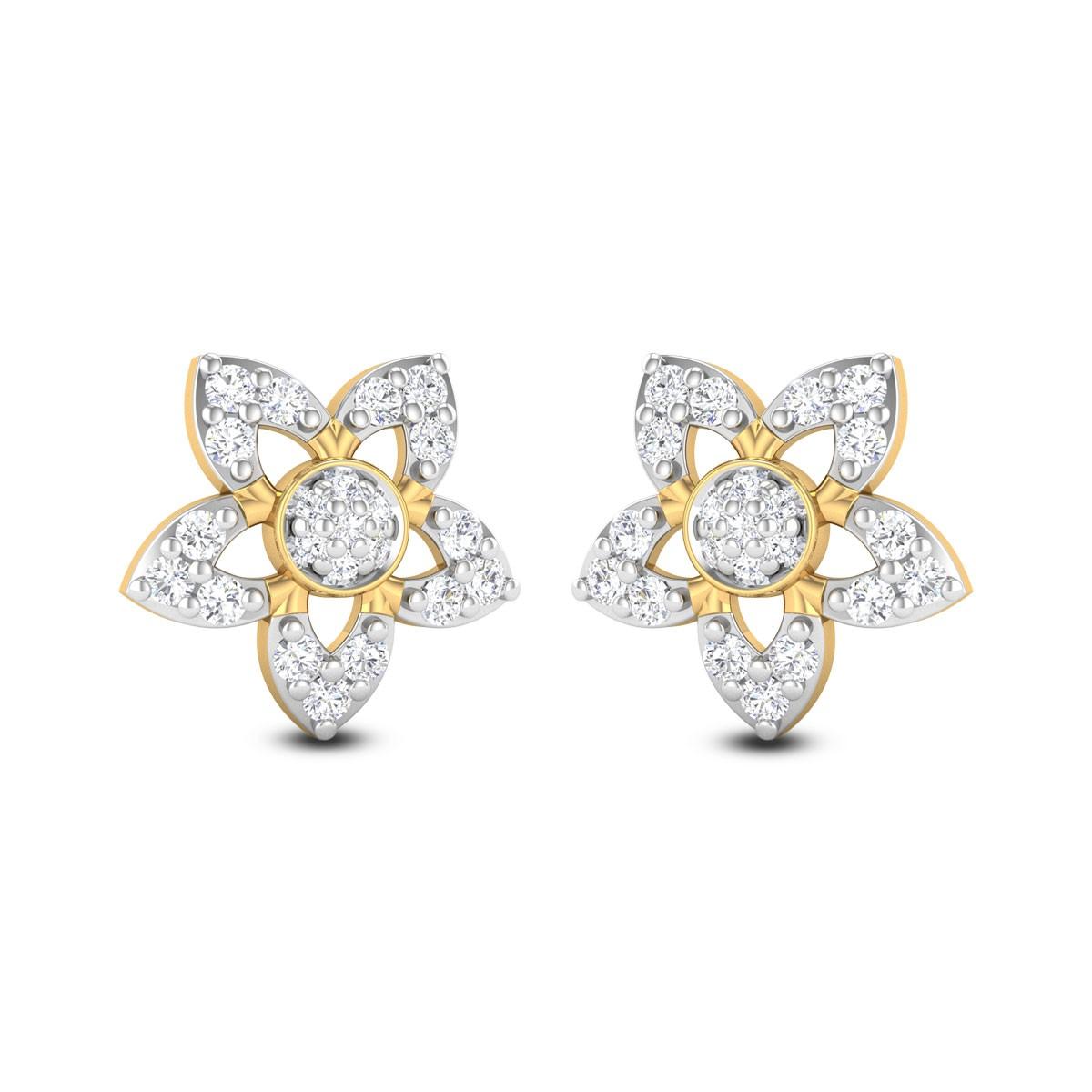 White Paradise Diamond Earrings