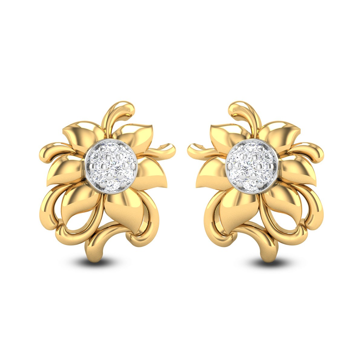 Devina Diamond Earrings