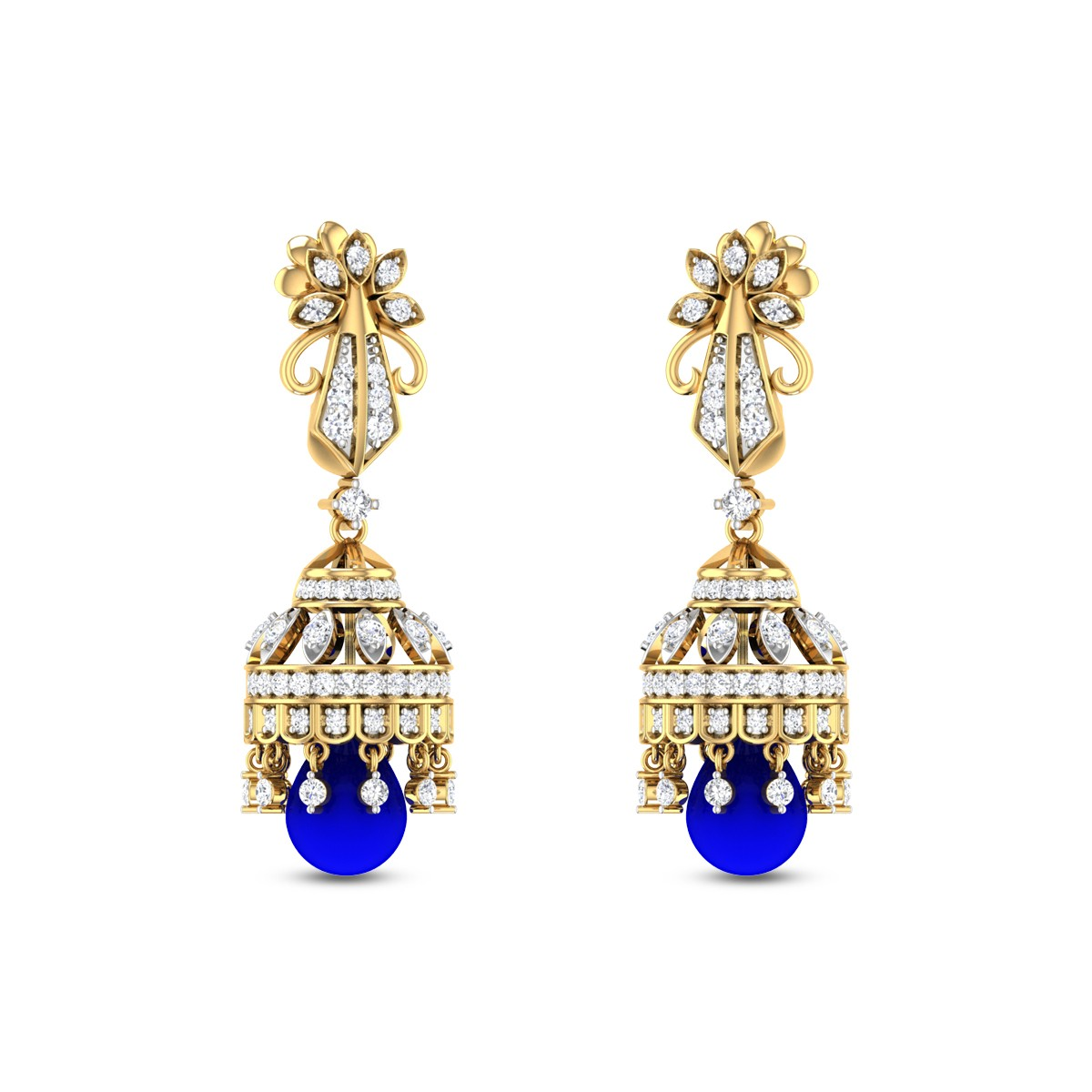Kalibak Diamond Earrings