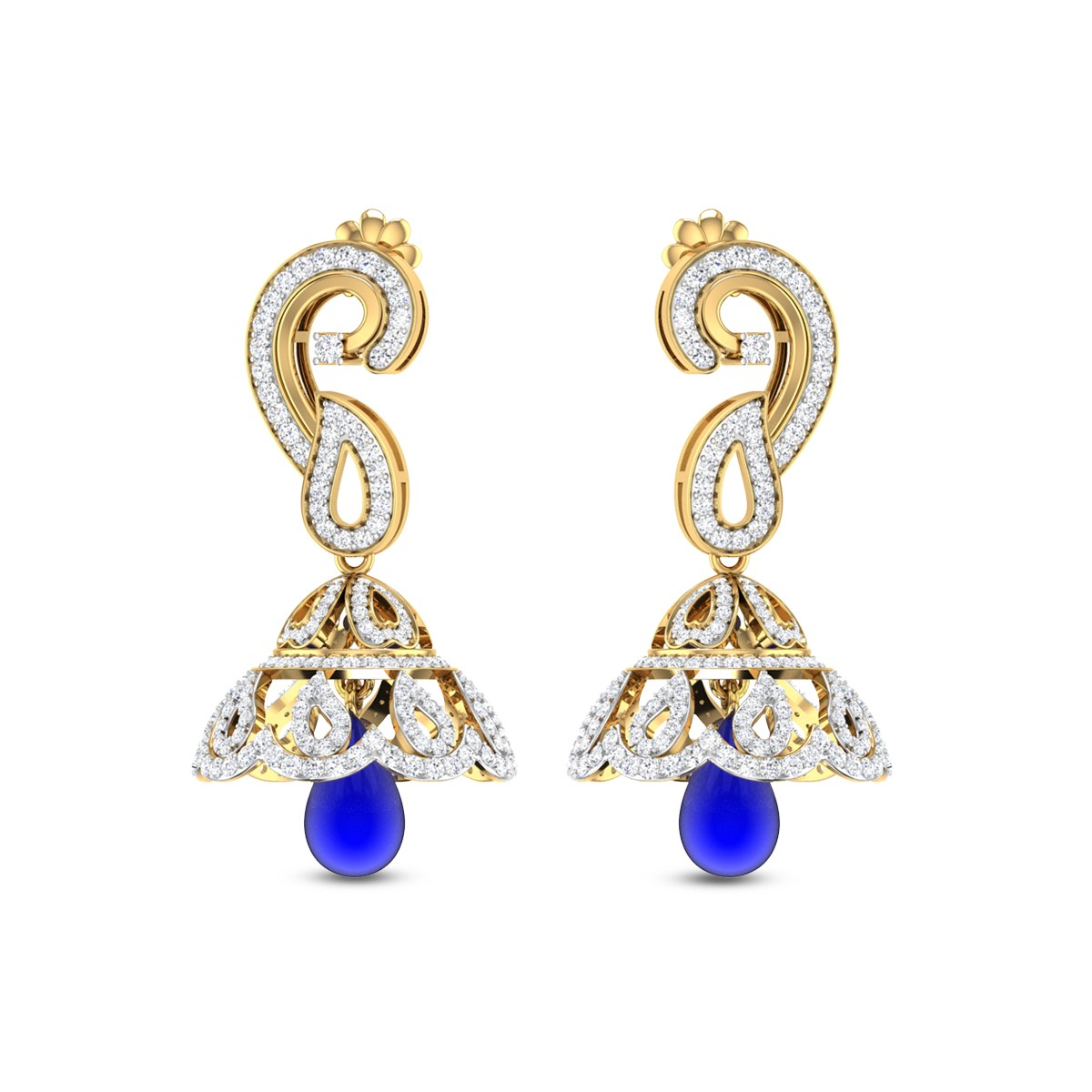 Laurel Diamond Earrings