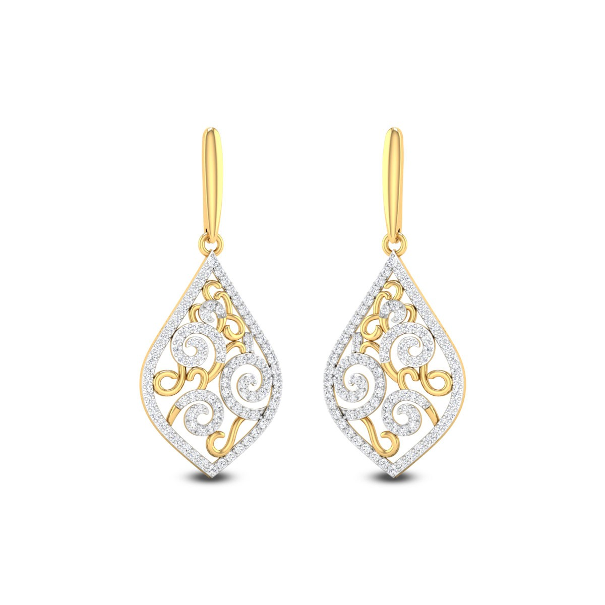Florencia Diamond Earrings