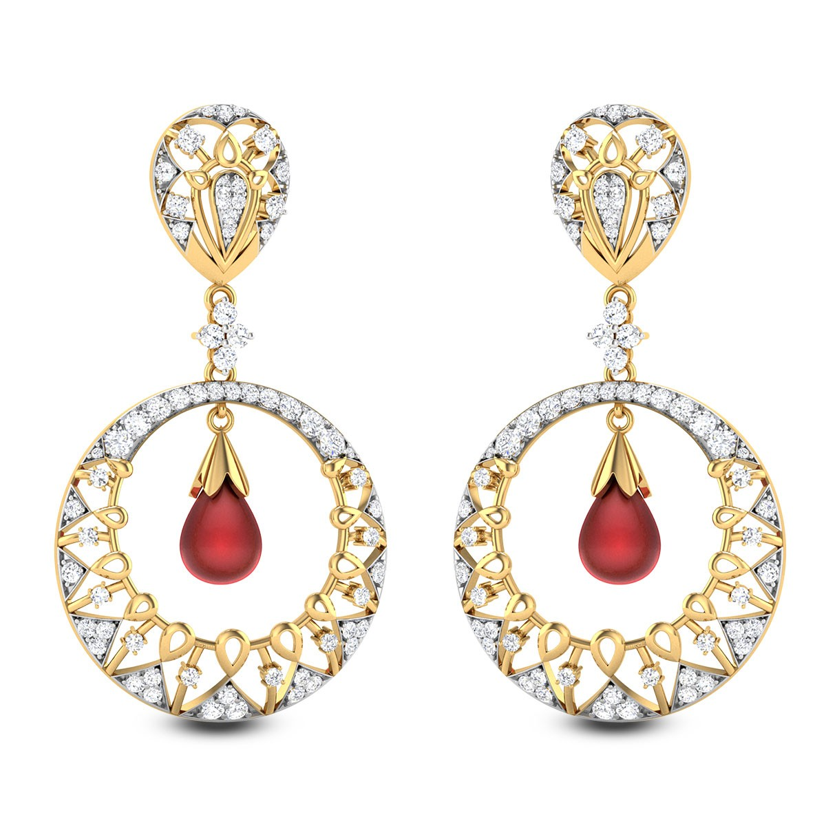 Ismini Chandelier Earrings