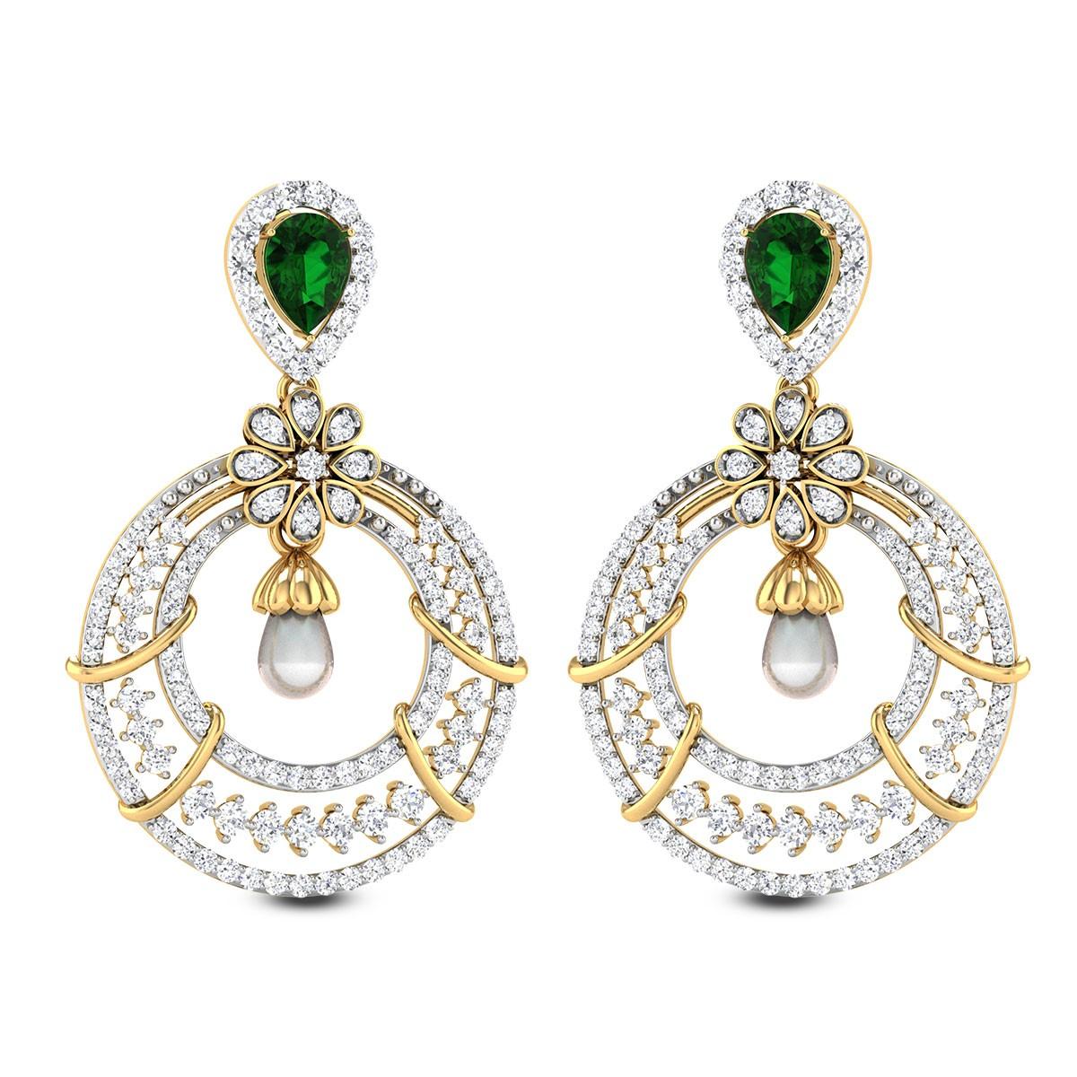 Solidago Diamond Earrings