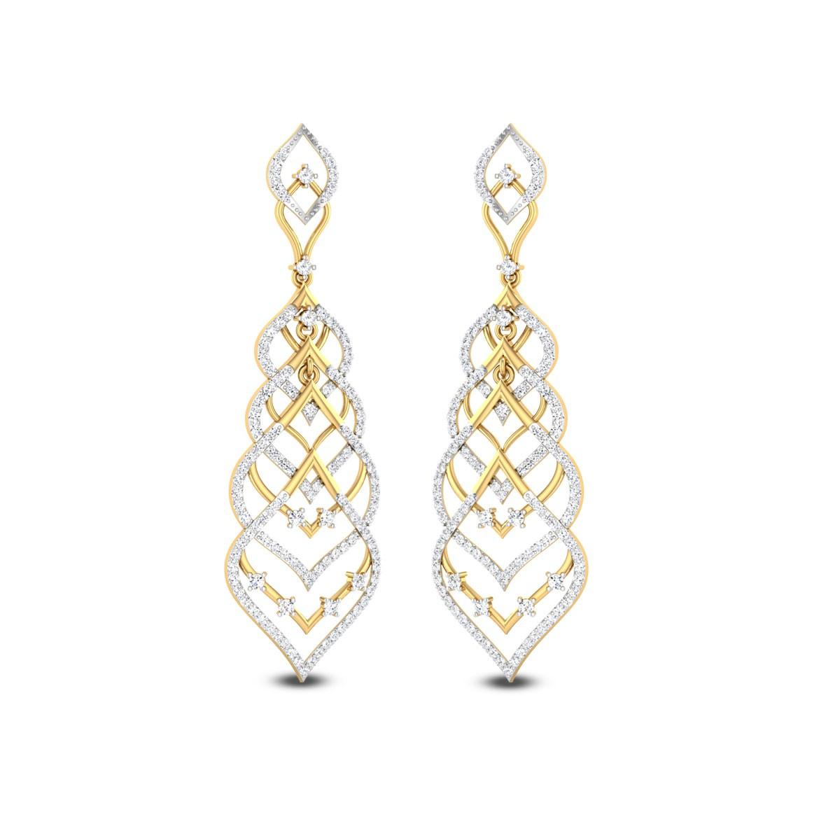 Fain Diamond Earrings
