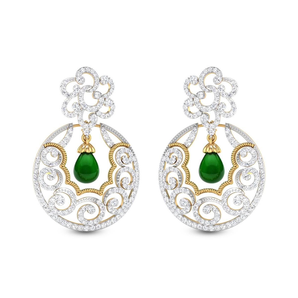 Eulophia Diamond Earrings
