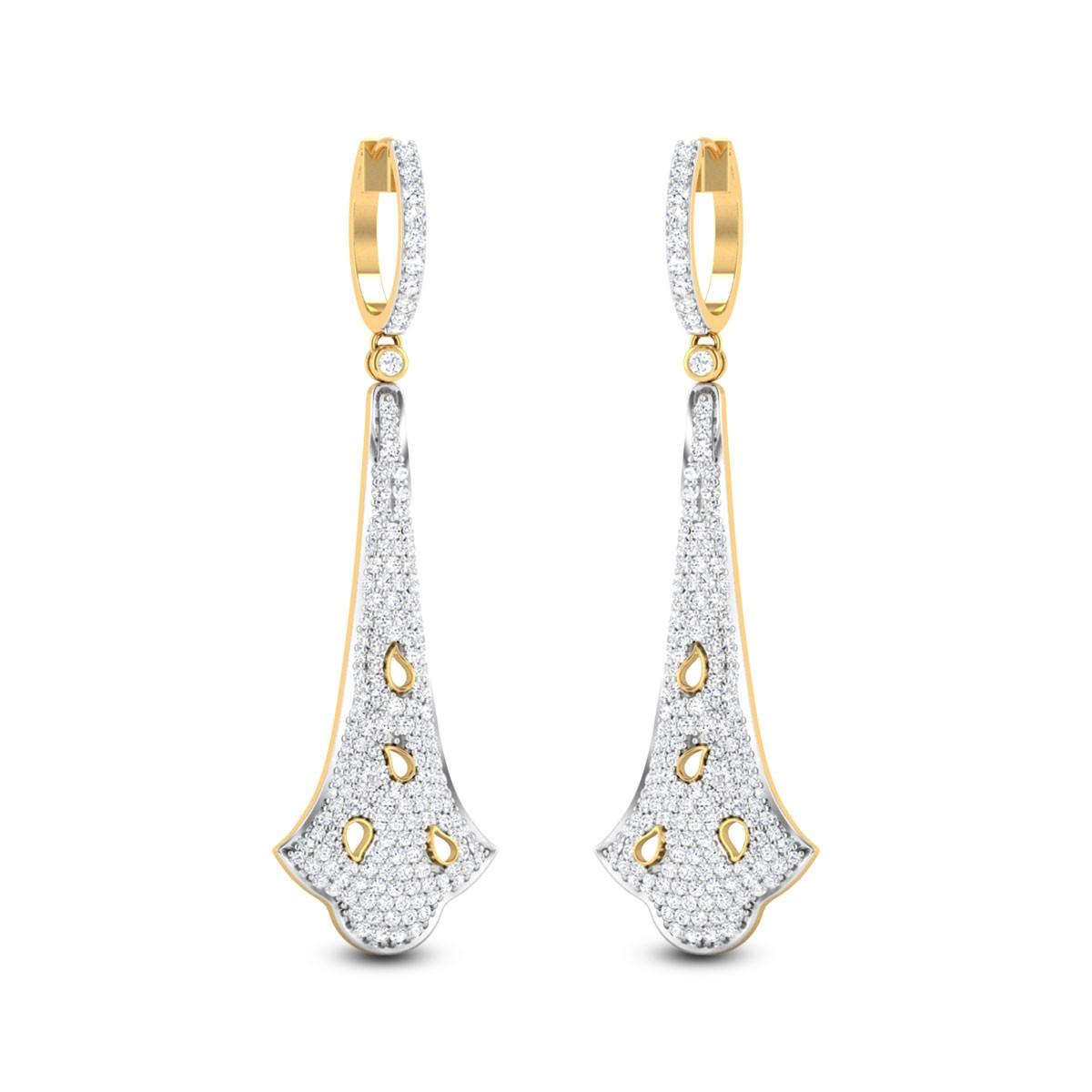 Bouvardia Diamond Earrings