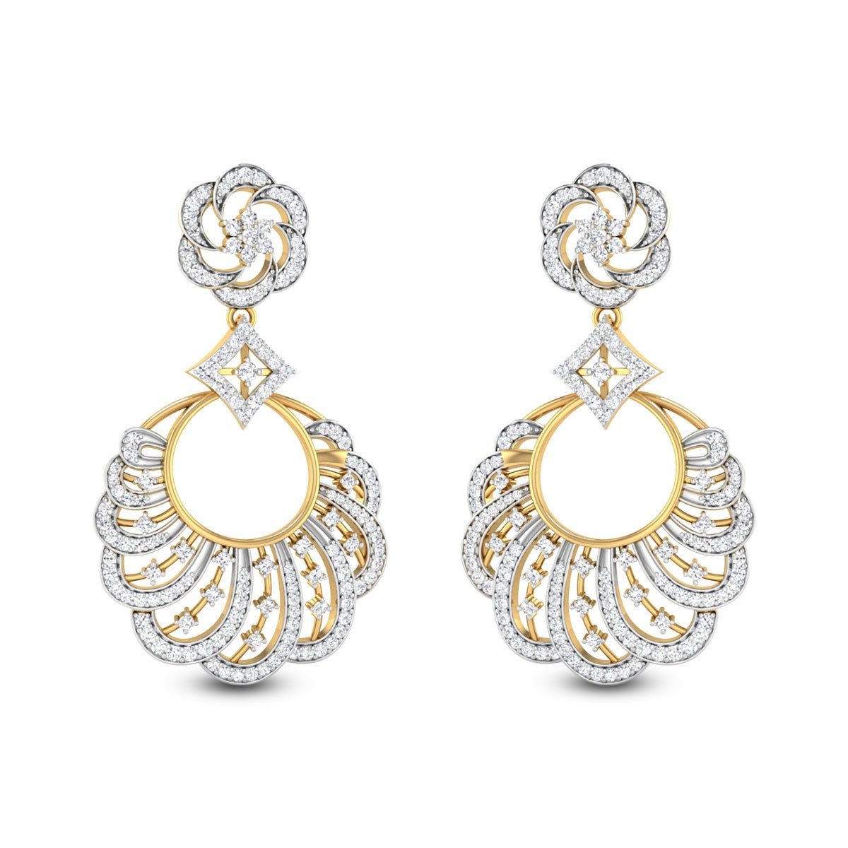 Ishani Chandelier Earrings