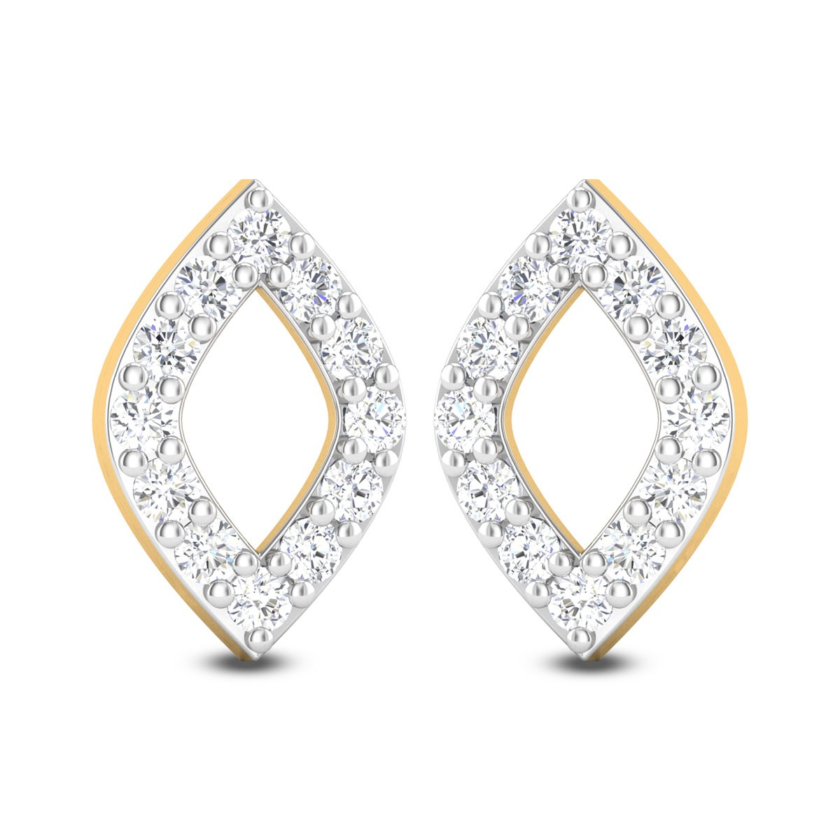 Akshainie Diamond Stud Earrings